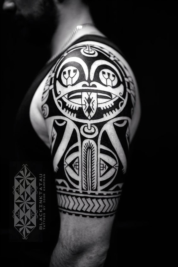 Cool Polynesian Tattoo Designs For Men (1)