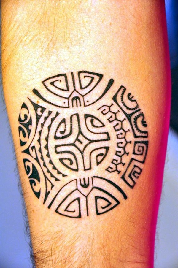 Cool Polynesian Tattoo Designs For Men (3)