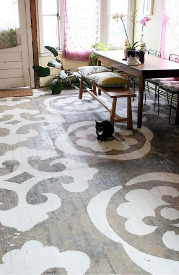 Creative Wood Floor Paint Decoration Art Works (12)
