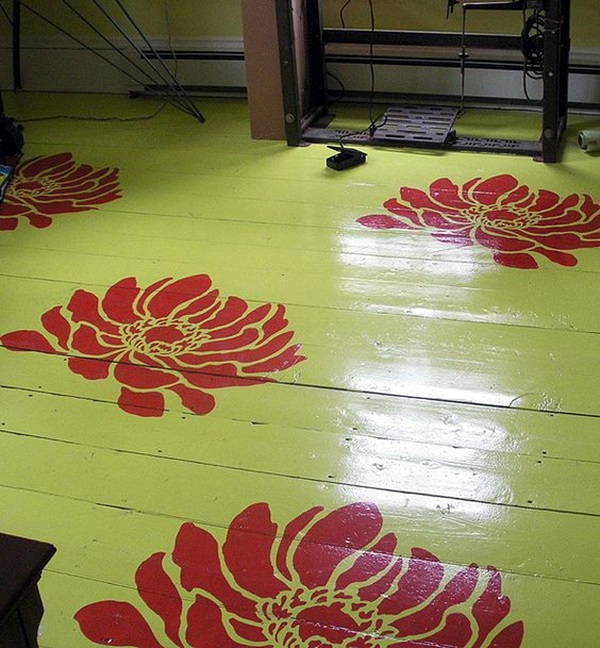 Creative Wood Floor Paint Decoration Art Works (16)