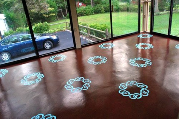 Creative Wood Floor Paint Decoration Art Works (21)