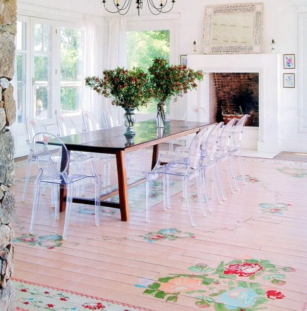 Creative Wood Floor Paint Decoration Art Works (29)