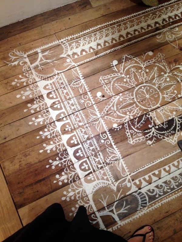 Creative Wood Floor Paint Decoration Art Works (32)
