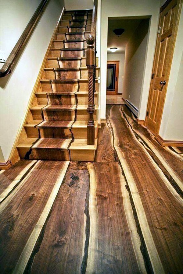 Creative Wood Floor Paint Decoration Art Works (33)