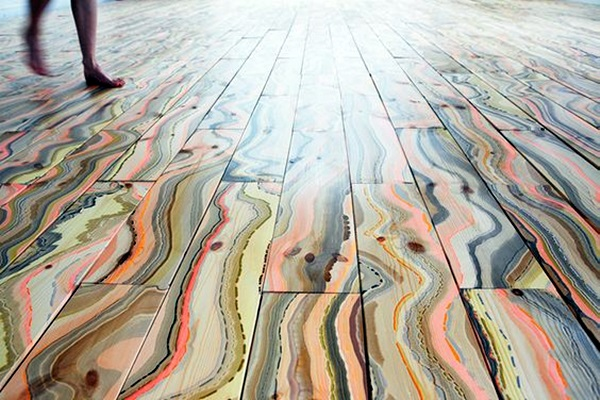 Creative Wood Floor Paint Decoration Art Works (36)