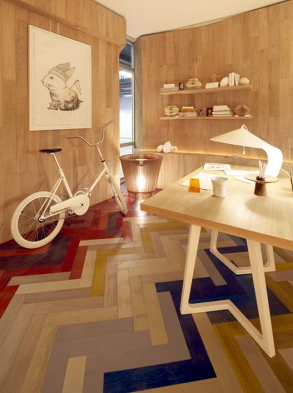 Creative Wood Floor Paint Decoration Art Works (9)