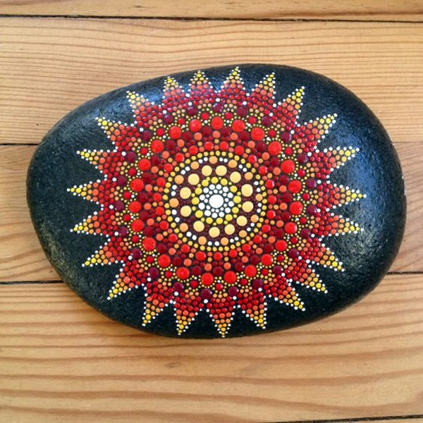 DIY Mandala Stone Patterns To Copy (10)