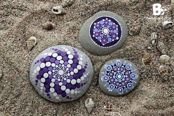 DIY Mandala Stone Patterns To Copy (15)
