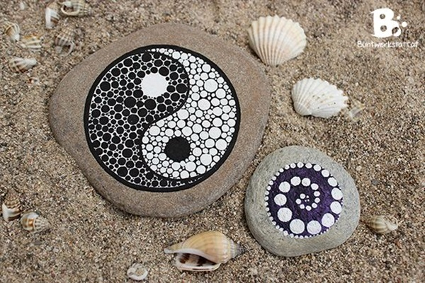 DIY Mandala Stone Patterns To Copy (18)
