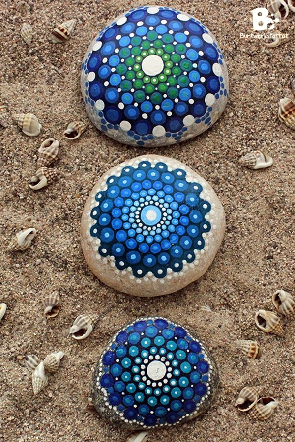 DIY Mandala Stone Patterns To Copy (19)