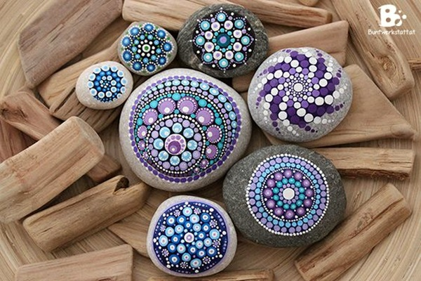 DIY Mandala Stone Patterns To Copy (30)