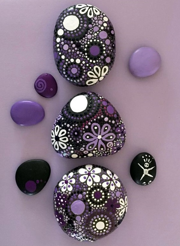 40 diy mandala stone patterns to copy
