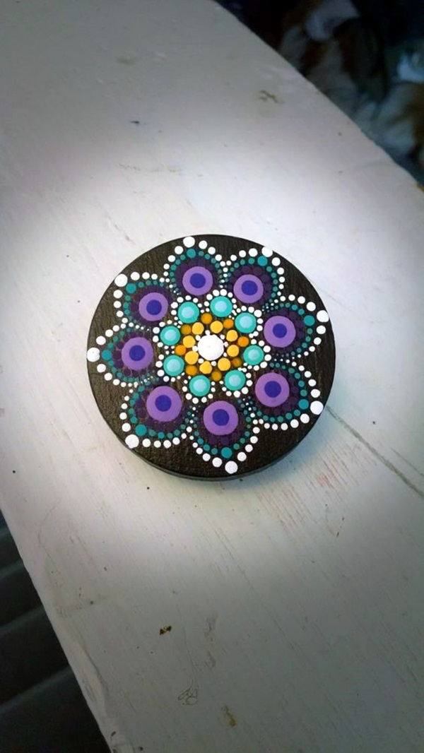 DIY Mandala Stone Patterns To Copy (35)