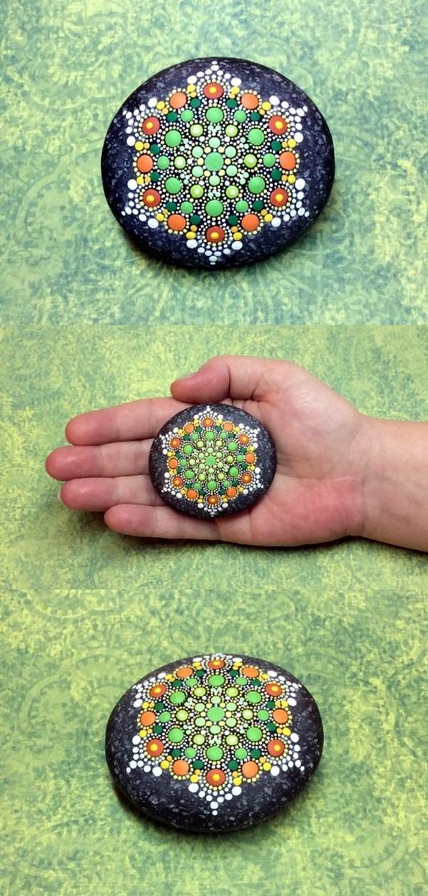 40 Diy Mandala Stone Patterns To Copy