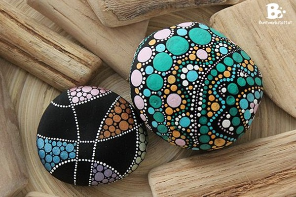DIY Mandala Stone Patterns To Copy (7)