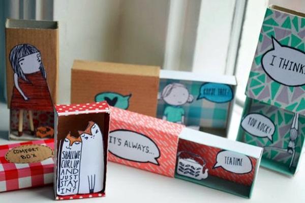 DIY Match Box Art Ideas For Kids (27)