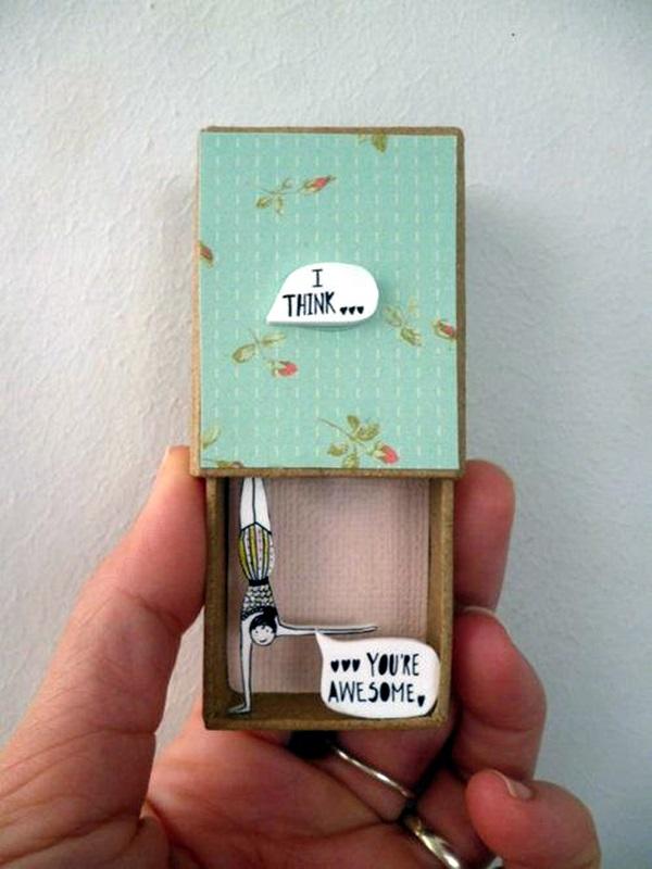 DIY Match Box Art Ideas For Kids (3)
