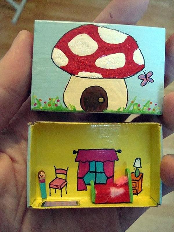 DIY Match Box Art Ideas For Kids (5)