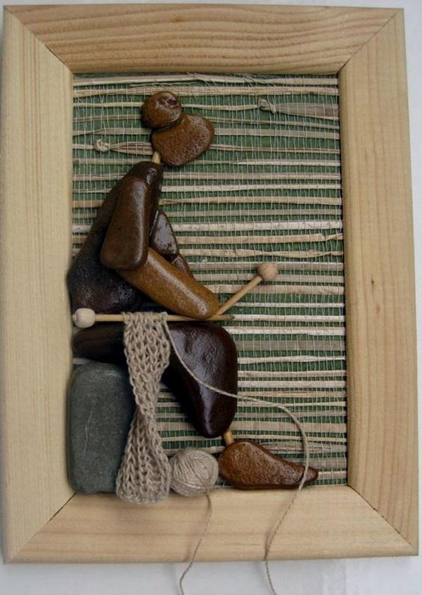 40 Diy Stone Craft Ideas For Many Use Bored Art