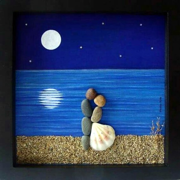 Stone Art Wedding Gift : Here Are Some DIY Stone Craft Ideas That Will Make You Feel As If You ...