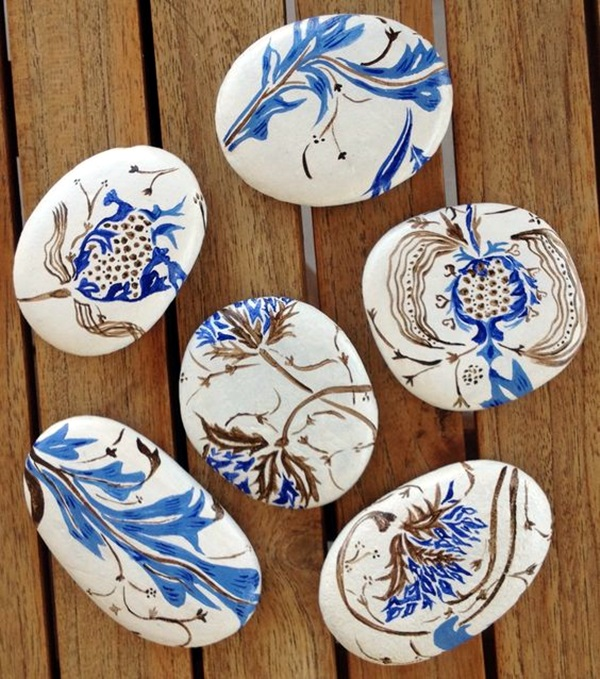 40 DIY Stone Craft Ideas For Many Use - Bored Art