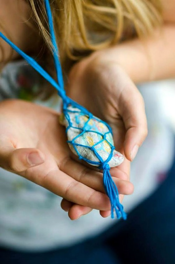 DIY Stone Craft Ideas (9)