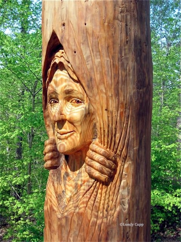 Exceptional Examples of Tree Carving Art (1)