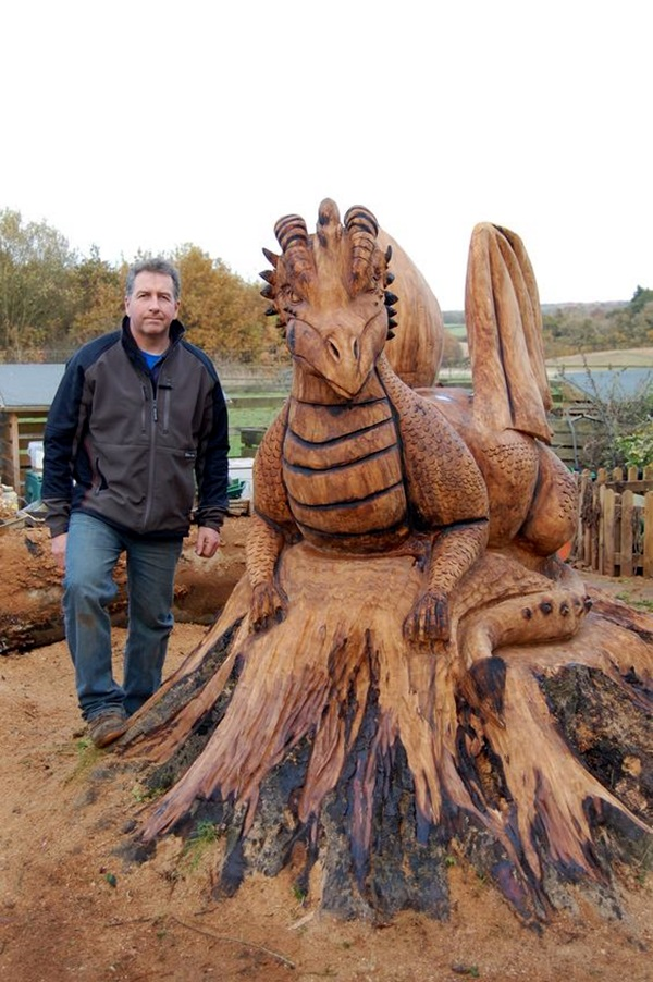 Exceptional Examples of Tree Carving Art (8)