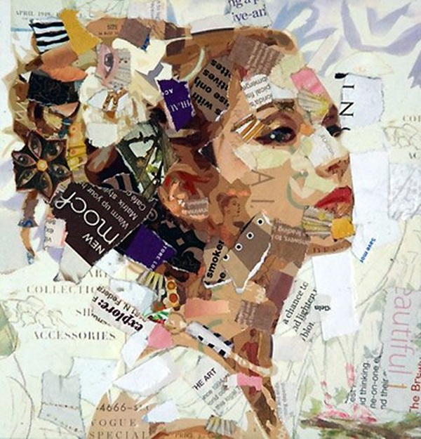 Exclusive Collage Portrait Art Works (10)