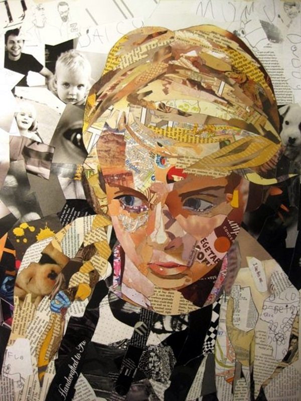 Exclusive Collage Portrait Art Works (13)