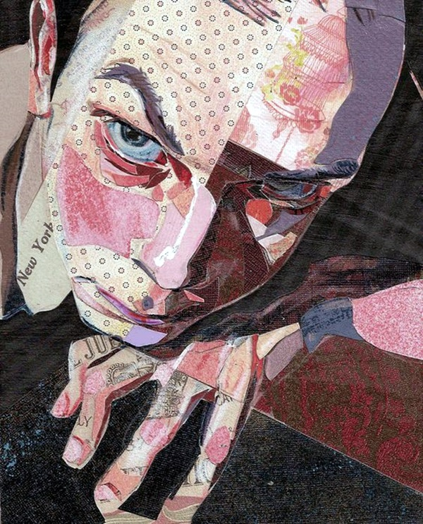 Exclusive Collage Portrait Art Works (2)