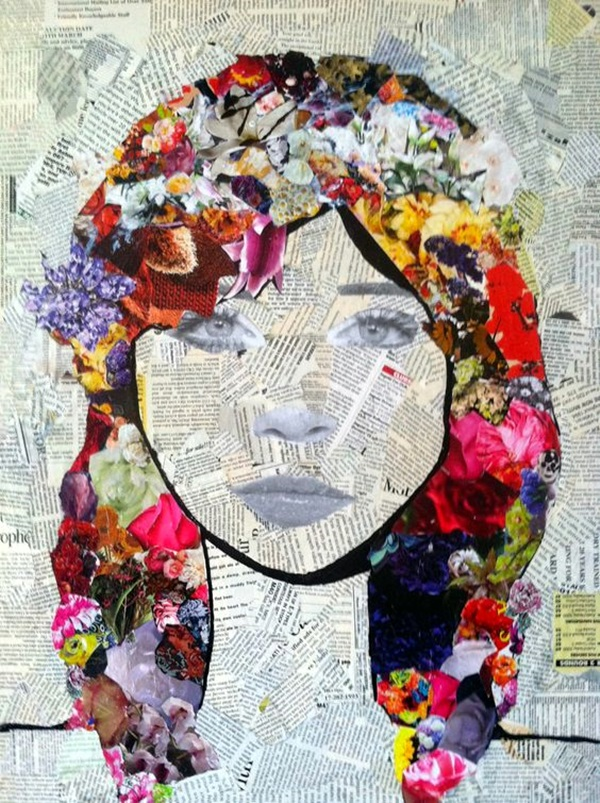 Exclusive Collage Portrait Art Works (7)