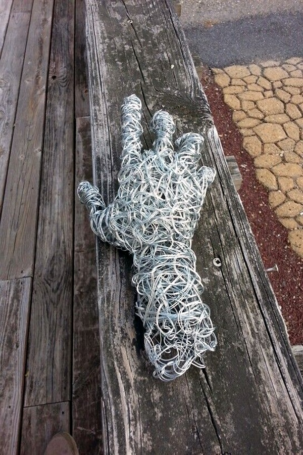 40 extraordinary line and wire sculptures for How to make a wire sculpture