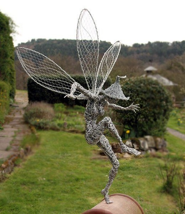 Extraordinary Line And Wire Sculptures (13)