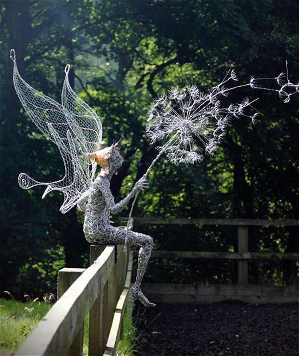 Extraordinary Line And Wire Sculptures (5)