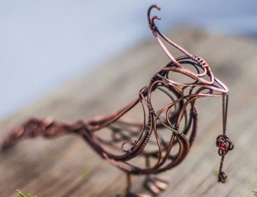 Extraordinary Line And Wire Sculptures