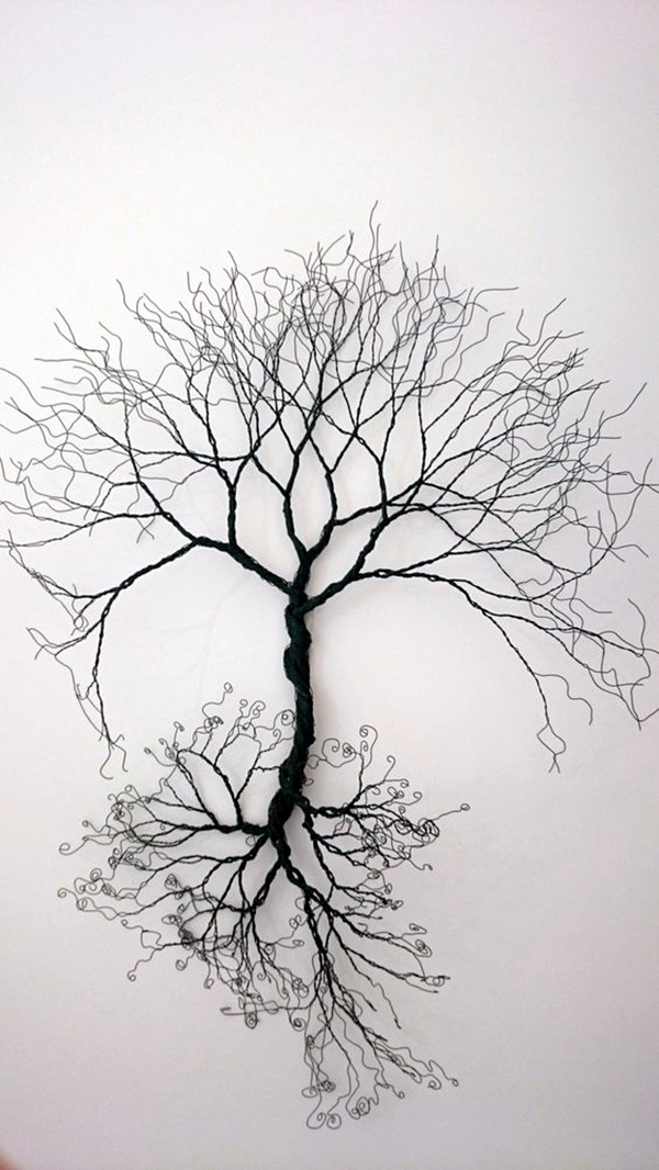Extraordinary Line And Wire Sculptures (6)