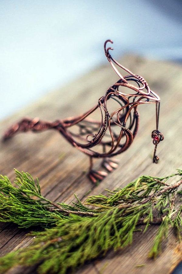 Extraordinary Line And Wire Sculptures (7)