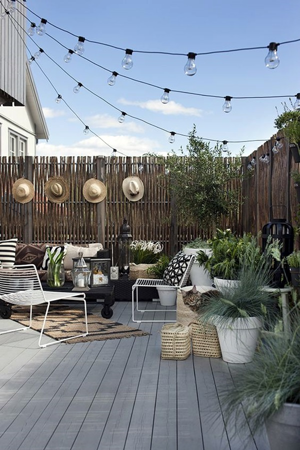 40 Fresh Terrace Decoration Ideas Bored Art
