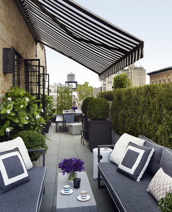Fresh Terrace Decoration Ideas (21)