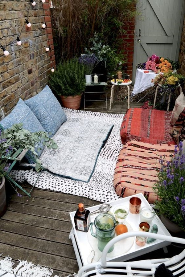 40 fresh terrace decoration ideas bored art for Terrace party decoration ideas