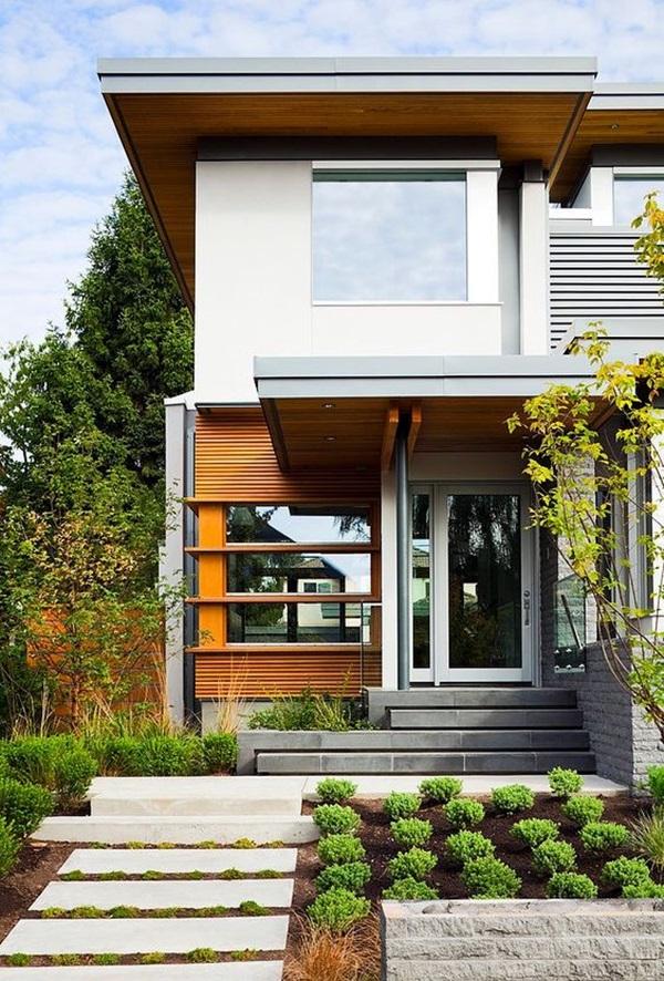 40 Lovely Door Overhang Designs Bored Art