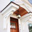Lovely Door Overhang Designs