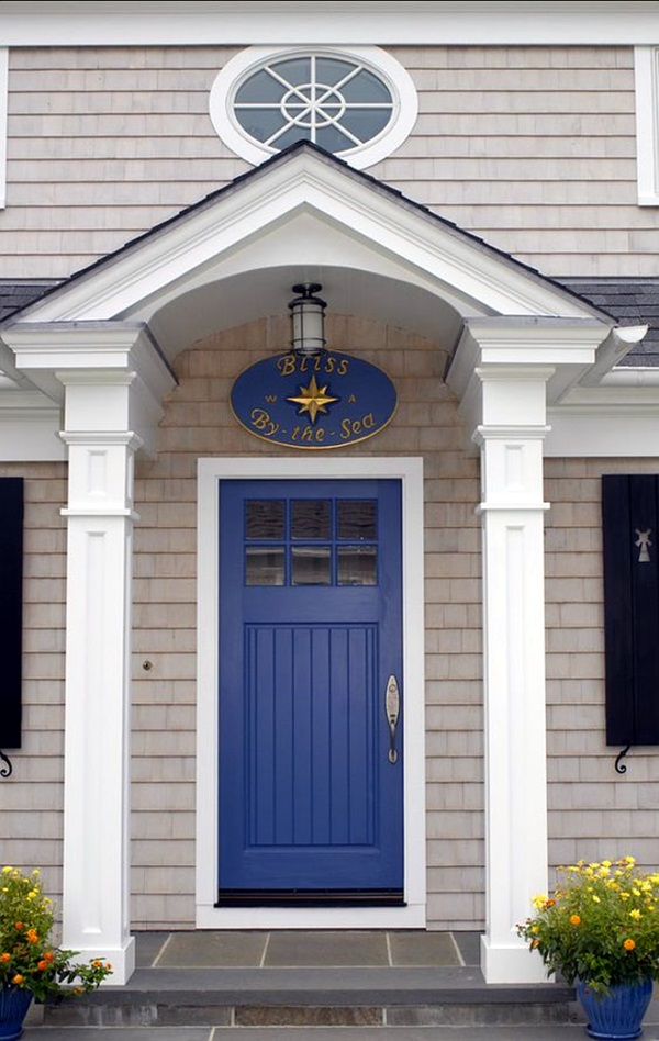 Lovely Door Overhang Designs (17)