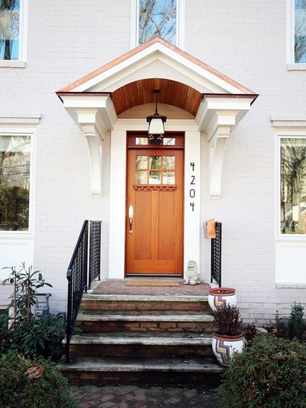 Lovely Door Overhang Designs (24)