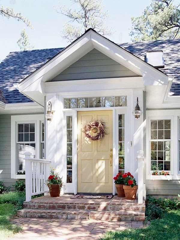 Lovely Door Overhang Designs (25)
