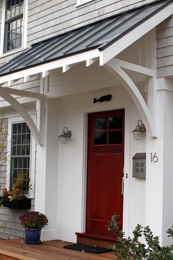 Lovely Door Overhang Designs (26)
