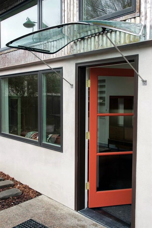 Lovely Door Overhang Designs (28)