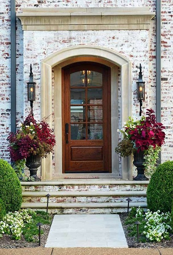 Lovely Door Overhang Designs (34)