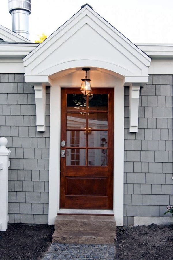 Lovely Door Overhang Designs (35)